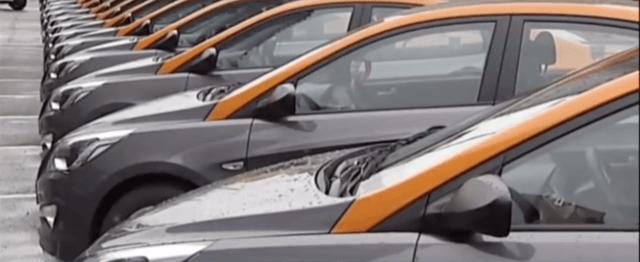 много машин для каршеринга