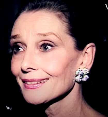 Audrey Hepburn in Old Age