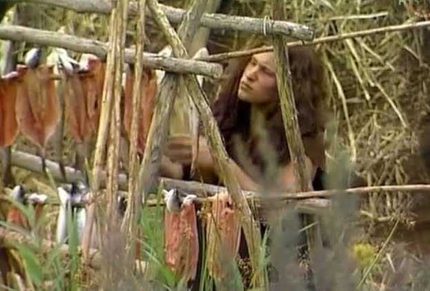 Jagd, Sammeln und Angeln sind die Hauptberufe der alten Menschen