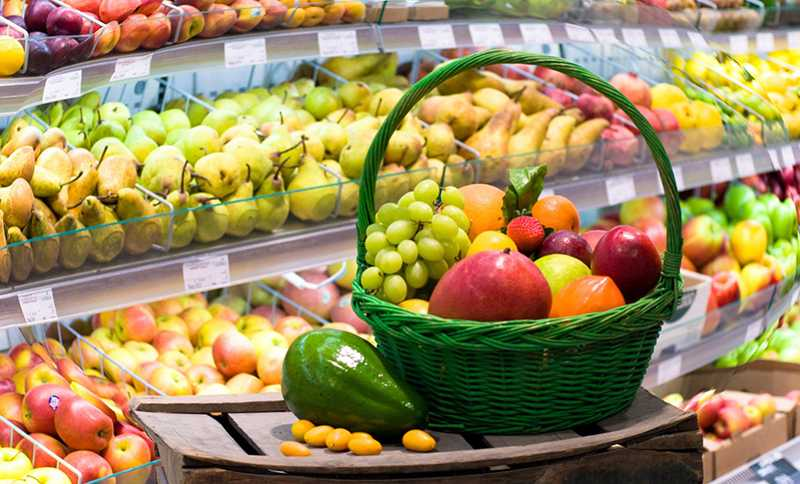 我们商店货架上的水果杂交品