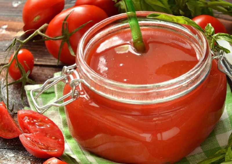 2 个番茄酱食谱与淀粉冬天