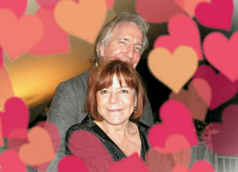 On the life of Rima Horton, the faithful wife of Alan Rickman