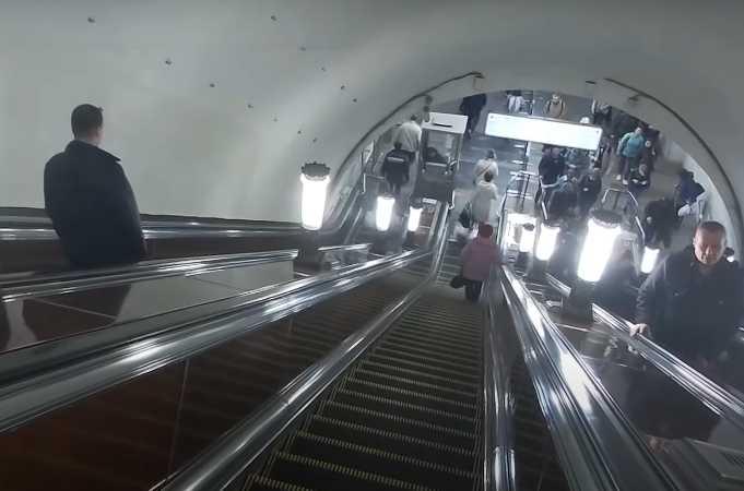Радиальная станция метро