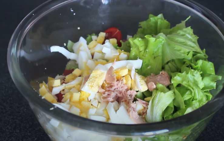 nourriture légère et nourriture appropriée