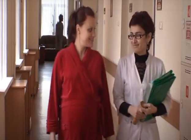 санитария в обсервационном отделении в роддоме