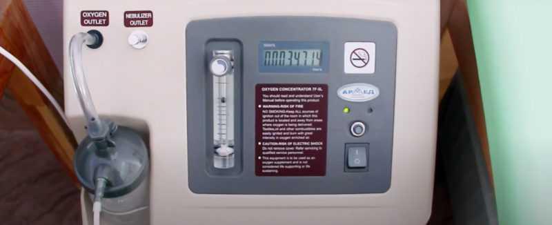 кислородная терапия: показания и противопоказания