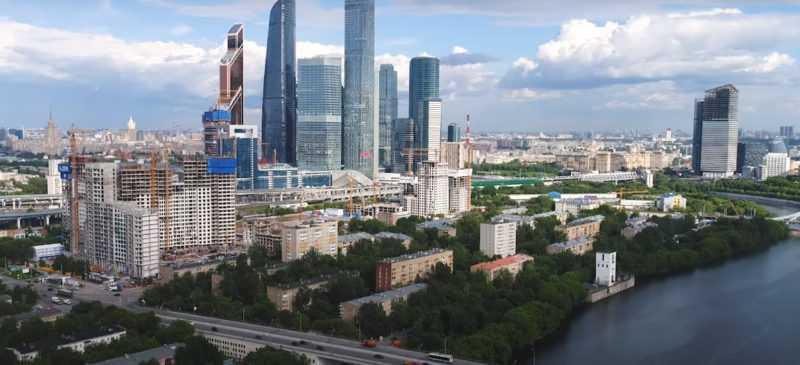 莫斯科人生活的东西:生态学