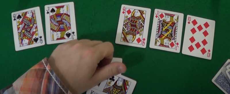 两个牌游戏