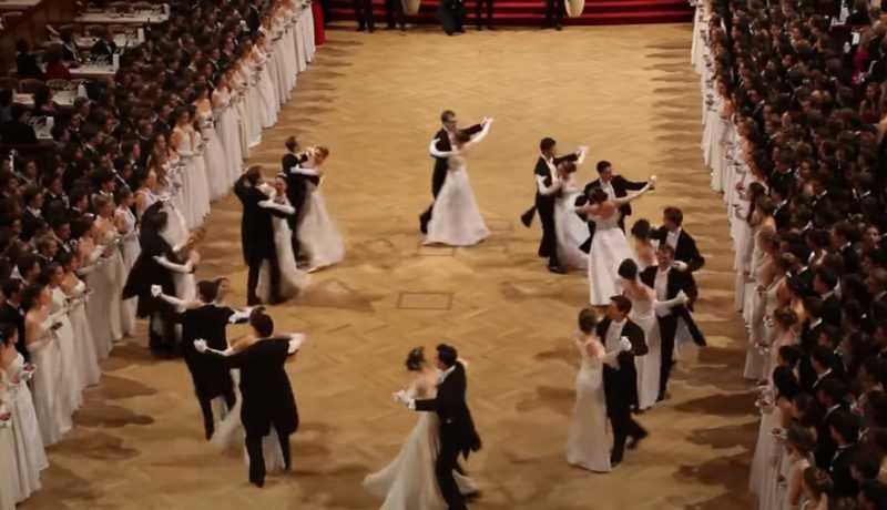 Немецкий танец вальс