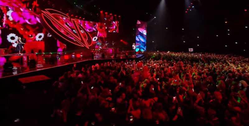 фан-зона в концертном зале