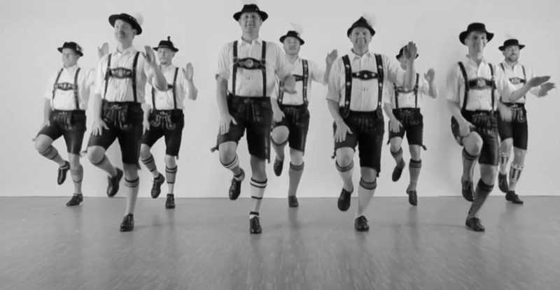 танцы Германии