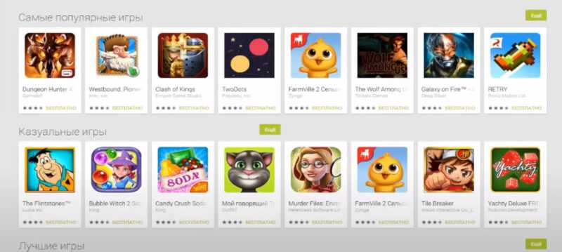 games for the tablet