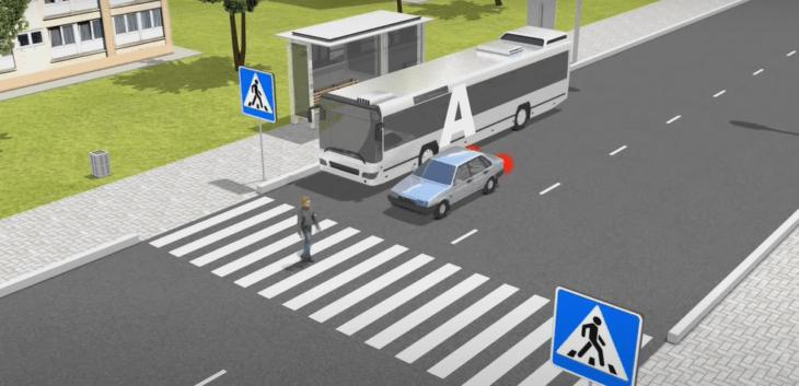 правильное поведение пешехода на проезжей части