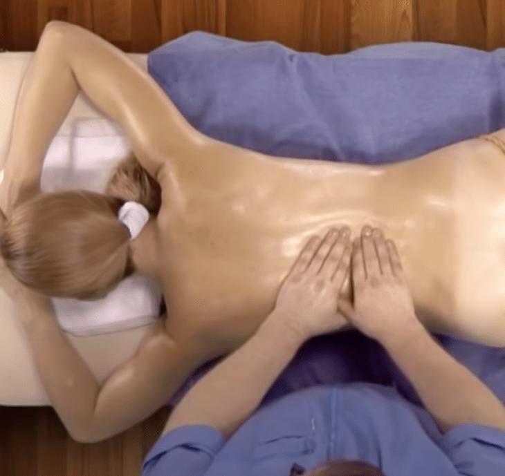 виды релакс массажа