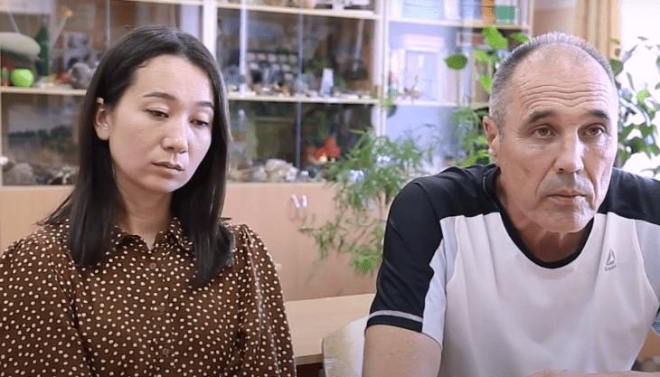 Ксения Ли с комиком Дмитрием Соколовым