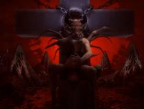 Значение фразеологизма «исчадие ада»