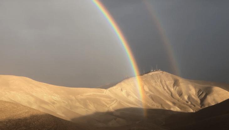 фото двойной радуги