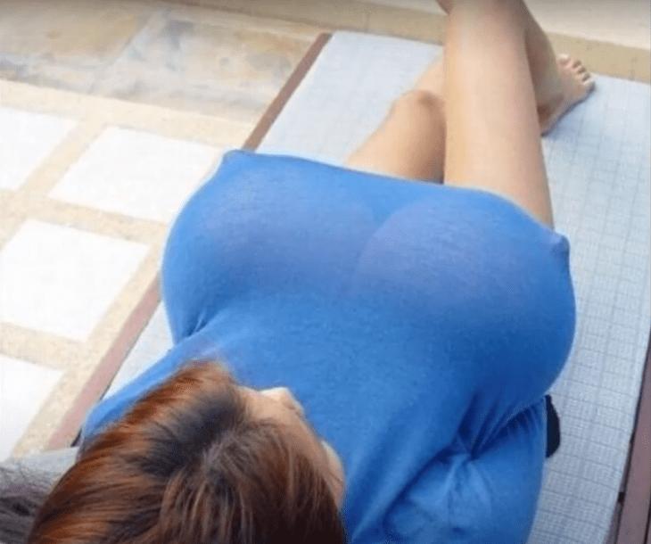 китаянка с самым большим размером натуральной груди в мире