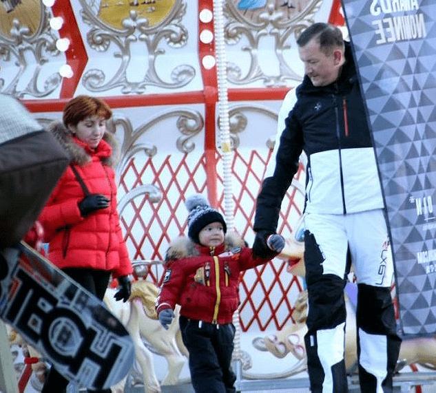 Михаила Борщев с семьей