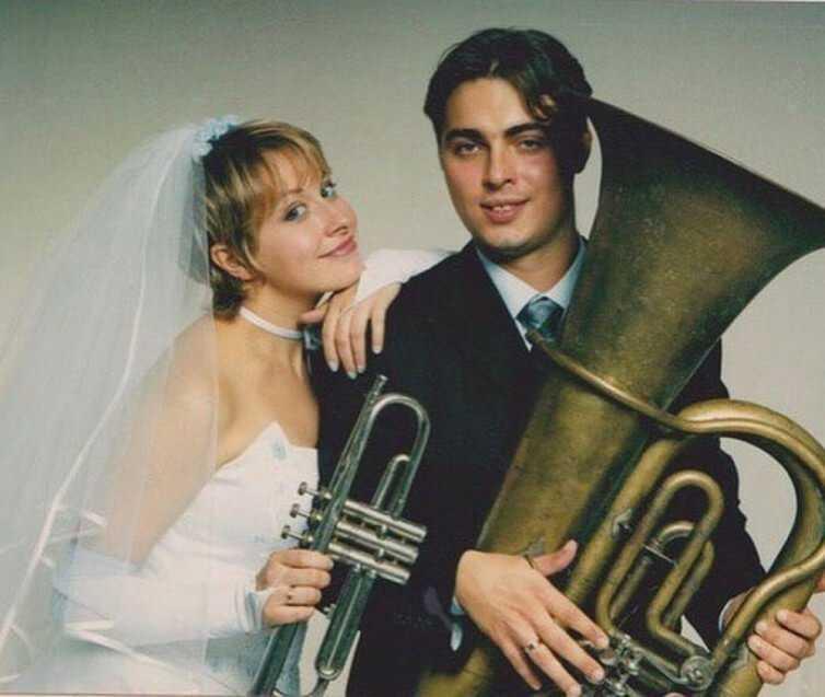 Сергей Кравец с женой
